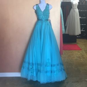 Angela and Alison Prom Dress
